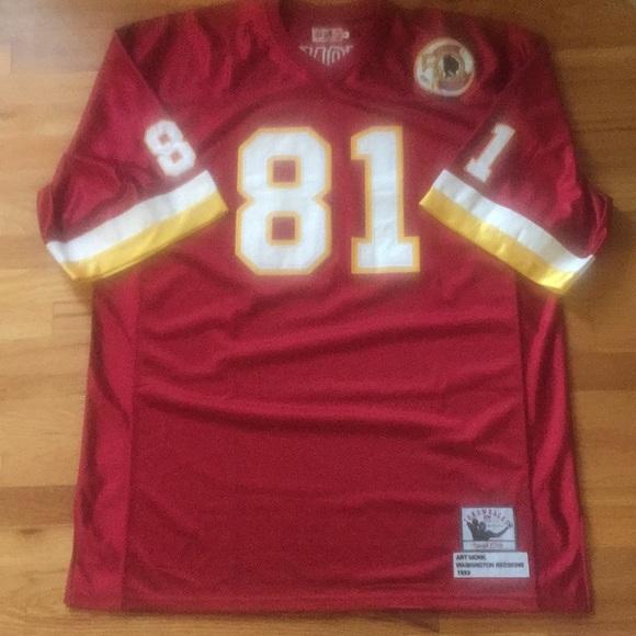 brand new 8a292 a7c81 Art Throwback Washington Redskins Monk Jersey soaring ...